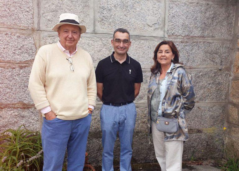Jose Carlos Capel et Julia Pérez Lozano visitent notre coopérative